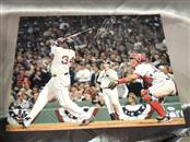 "David Ortiz 34 Red Sox Walk Off Home Run 2004 Steiner COA Picture Signed 16""x20"""